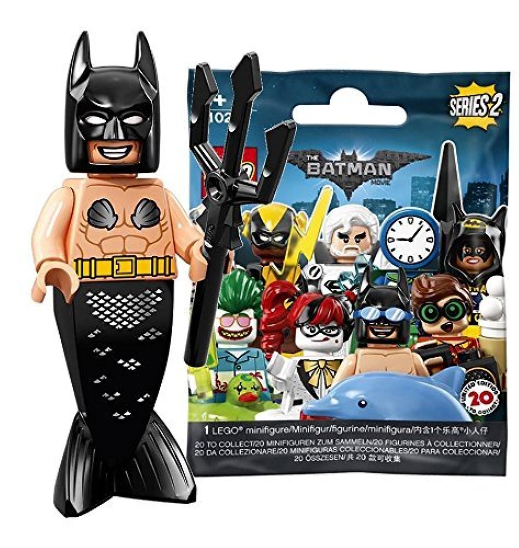 レゴ(LEGO)ミニフィギュア ザ レゴ バットマンムービー シリーズ2 マーメイド バットマン 未開封品 |The LEGO Batman Movie Series 2 Mermaid Batman 【71020-5】