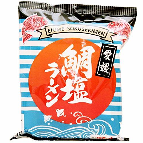 愛媛 鯛塩ラーメン インスタントラーメン 袋 100g