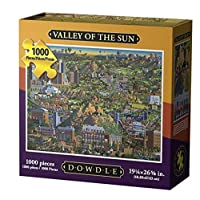 DowdleフォークアートValley of the Sunジグソーパズル( 1000ピース)