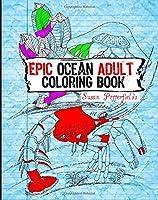 Epic Ocean Adult Coloring Book