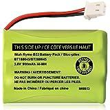 iMah BT188645/BT288645 3.6V 900mAh Ni-MH Battery Pack, Also Compatible with VTech BT207695 VM312 VM3251 VM3252 VM3261 Digital