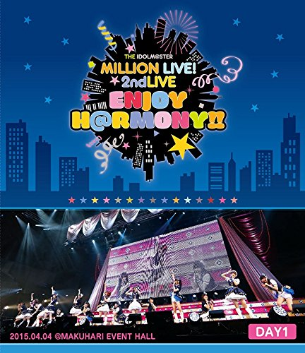 THE IDOLM@STER MILLION LIVE! 2ndLIVE ENJOY H@RMONY!! LIVE Blu-ray DAY1-