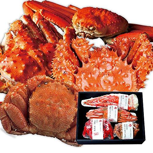 島の人 四大蟹 セット 1.9kg [ ズワイガニ タラバガニ 毛蟹 花咲蟹 ] お歳暮 内祝い ギフト かに 蟹