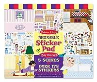 Melissa & Doug Play House! Reusable Sticker Pad [並行輸入品]