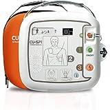 【AED】自動体外式除細動器 +AED搭載車両ステッカーのお得セット CU-SP1(シーユーSP1) CUメディカル社 【本体 AED-CU-SP1 、レスキューセット、キャリングケース、 AED専門店クオリティー AEDステッカー1609、1621
