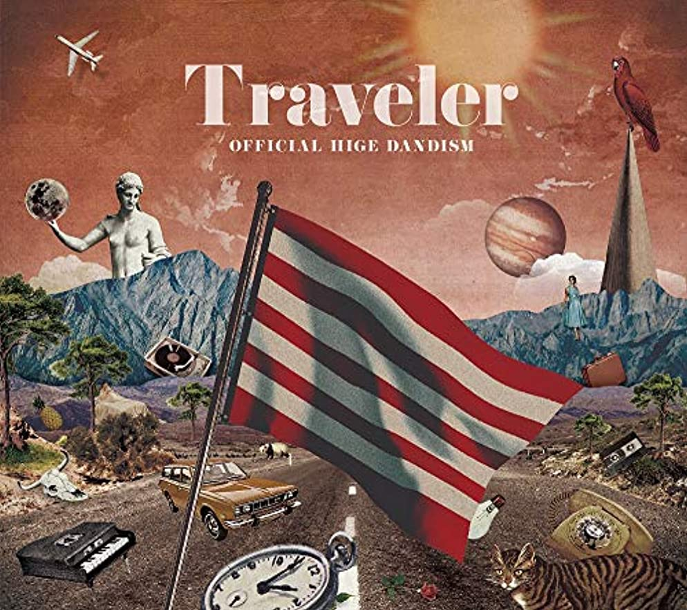 イタリック人工的な令状Traveler (初回限定LIVE DVD盤)