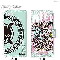 iPhone6 4.7inch ダイアリーケース 手帳型 ケース カバー スマホケース ジアン jiang かわいい イラスト Project.C.K. プロジェクトシーケーSWEET 11-ip6-ds0009