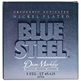 Dean Markley ディーンマークレー 5弦エレキベース弦 ブルースティール ニッケル Blue Steel NPD Bass 2678A Light 5-String .045-.125