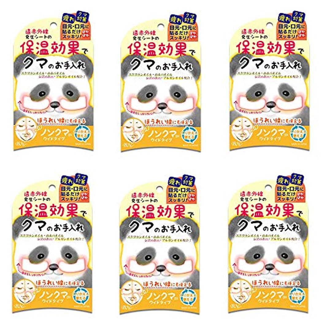 訴える寝る洗剤BN ノンクマ DX ワイドタイプ NKD-01 6個セット