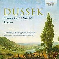Dussek: Sonatas Op.35 Nos.1-3, Lecons by Naruhiko Kawaguchi (2015-11-15)