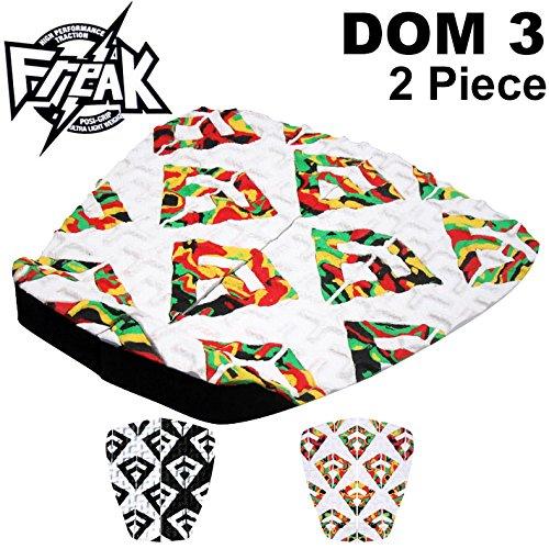 Freak フリーク デッキパッド DOM3 ブラッド・ドンキー サーフィン デッキパッチ 2ピース