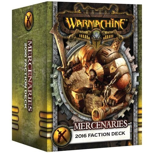 [ウォーマシン]Warmachine Mercenaries: Faction Deck PIP 91109 [並行輸入品]