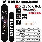 ALLIAN(アライアン) アライアン スノーボード PRISM GIRL アライアン プリズムガール 16-17 ALLIAN スノーボード ワックスサービス! 145cm