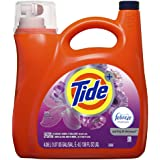 Tide Liquid Laundry Detergent with Febreze Freshness, Spring and Renewal, 4.08L