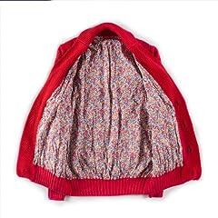 Cotton Shawl Collar Cardigan: Red