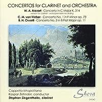 Mozart/Weber/Crusell: Concerto