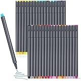36 Journal Planner Pens Set, Colorful Pens Fine Tip Markers Fine Point Drawing pens, Porous Fineliner Pen for Bullet Journali