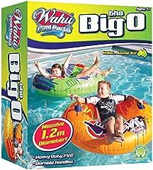 Wahu BMA509B The Big O Inflatable Swim Ring, Blue