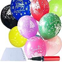 風船 100個セット パーティ 飾り付け バルーン お誕生日 バレンタイン クリスマス ポンプ付き 貼付両面シール(100粒)付き