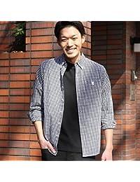 コーエン(メンズ)(coen) タイプライターギンガムボタンダウンシャツ