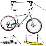 DRASE Bike Storage Racks for Garage,Hanging Bicycle Ceiling Mount,Kayak Hoist Lift-Drase