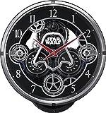 ( リズム時計 ) STAR WARS 銀河帝国軍 ダースベーダー KARAKURI CLOCK / スター・ウォーズ 黒色 4MN533MC02