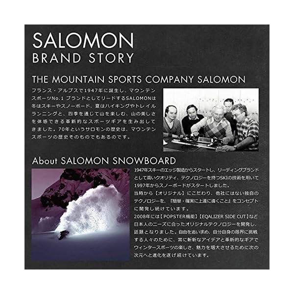 SALOMON(サロモン) スノーボード ブ...の紹介画像11