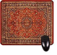 Oriental Rug印刷デザイン正方形TM–マウスパッド–スタイリッシュな、耐久性オフィスアクセサリーとギフトMade in the USA