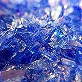 ラピスラズリブルー ガラスカレット極小粒2mm-4mm 20g レジン封入ガラス材 アクセサリーパーツ ハンドメイド 手芸材料