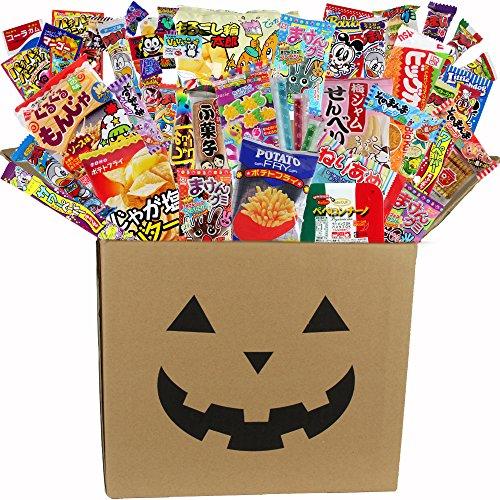 ハロウィン お菓子セット halloween お菓子 子供 詰め合わせ 駄菓子 詰め合わせセット ダンボールが仮装マスクに変身!