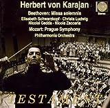 Beethoven: Missa Solemnis (plus rehearsals) / Mozart: Symphony No. 38- Prague by Elisabeth Schwarzkopf (1998-09-01)