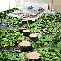 Wapel ?カスタム写真 3 D ウェアラブル Pvc 床塗装の池池の 3D を 3D のバスルームの床を塗っ 200 Cmx 140 cm