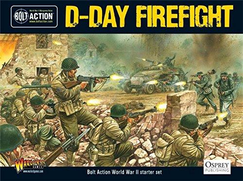 Dデイ、Firefight、開始セット、28mmボルトアクションWargamingミニチュア