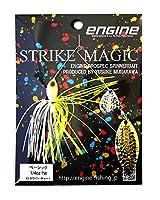 エンジン(ENGINE) ルアー ストライクマジック1/4TW #02ホワイト・チャート