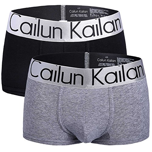 ハシレイ 7カラー メンズ ボクサーパンツ ブランド CAILUN KAILAN 無地 肌着 ボクサーブリーフ 人気セット インナー