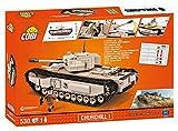 Cobi World of Tanks/3031/WOT CHURCHILL I, 530 building bricks