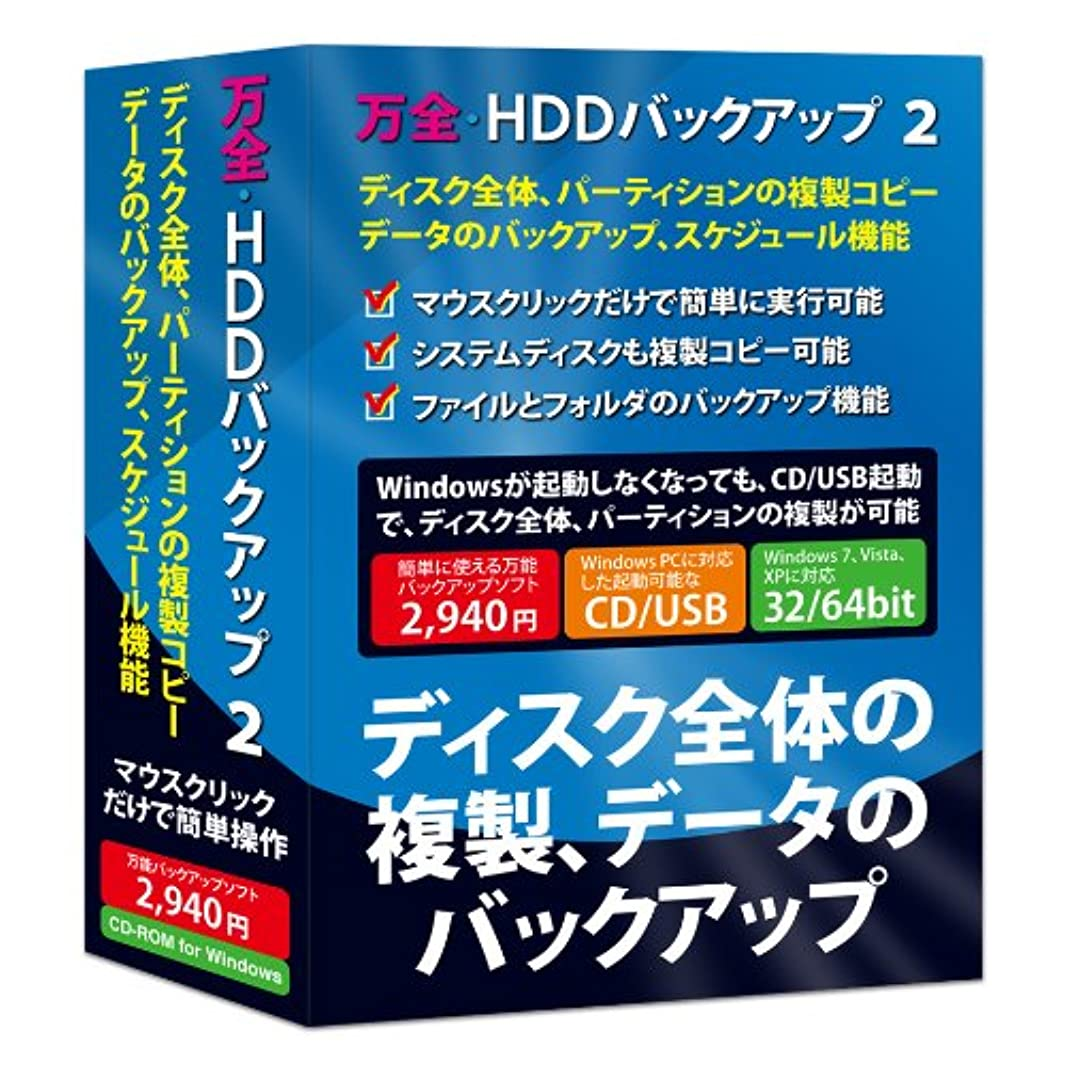 万全?HDDバックアップ 2