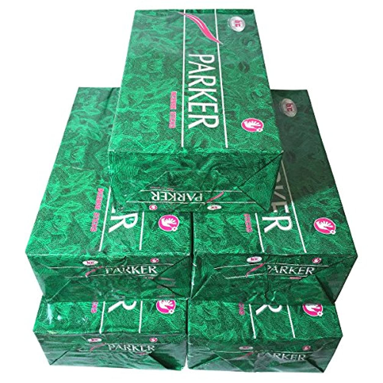 雇う毛皮洞察力パーカー香スティック 5BOX(30箱)/BIC PARKER/ インド香 / 送料無料 [並行輸入品]
