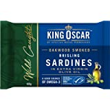 King Oscar Sardine Brisling in Extra Virgin Olive Oil, 100g