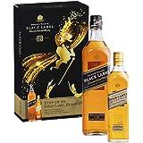 Johnnie Walker Black and Gold Label Single Malt Scotch Whisky Gift Pack