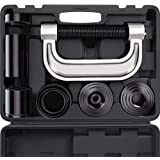 OrionMotorTech Heavy Duty Ball Joint Press & U Joint Removal Tool Kit with 4wd Adapters, for Most 2WD and 4WD Cars and Light