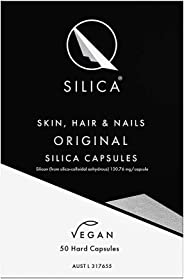 Qsilica Skin, Hair & Nails Original Silica Capsules, 50 count