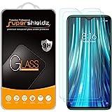 (2 Pack) Supershieldz Designed for Xiaomi (Redmi Note 8 Pro) Tempered Glass Screen Protector, Anti Scratch, Bubble Free