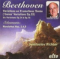 Beethoven: Eroica Variations, Other Variations; Schumann: Noveletten by Sviatoslav Richter