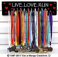 Fast shipping-runningメダルホルダー、Live Love Run、s4577