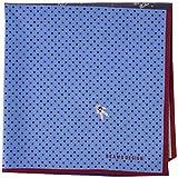 [ビームス デザイン] ハンカチ メンズ プリント 06801004B ブルー 日本 50cmx50cm (FREE サイズ)