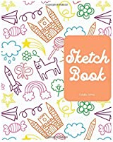 Sketchbook: Unlined Notebook, Blank Paper for Drawing, Doodling or Sketching 8 X10 Inch 120 Page (Sketchbooks)