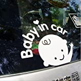 セーフティーサイン/Baby in Car セーフティ反射ステッカー 赤ちゃん