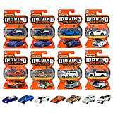 マテル マッチボックス(Matchbox) ムービングパーツ アソート 【ミニカー8台入り BOX販売】 986L-FWD28 オレンジ