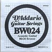 D'Addario BW024弦/Bronze アコギ用3弦×5本